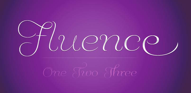 hft000 fluence pr1 Fluence Font