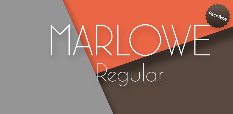 hft158 marlowe pr1 Marlowe Font