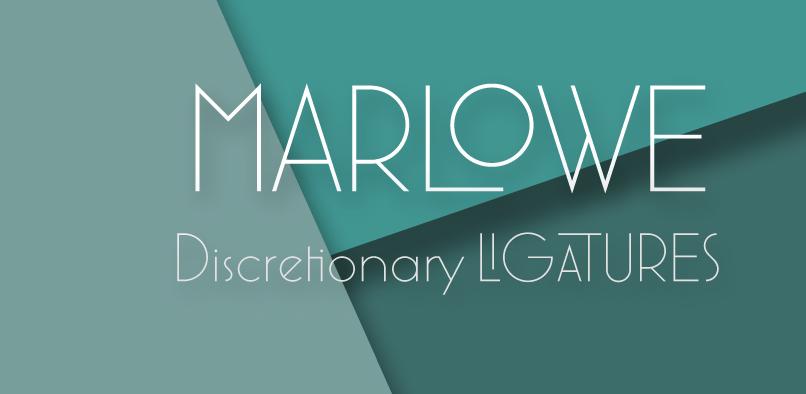 hft158 marlowe pr2 Marlowe Font