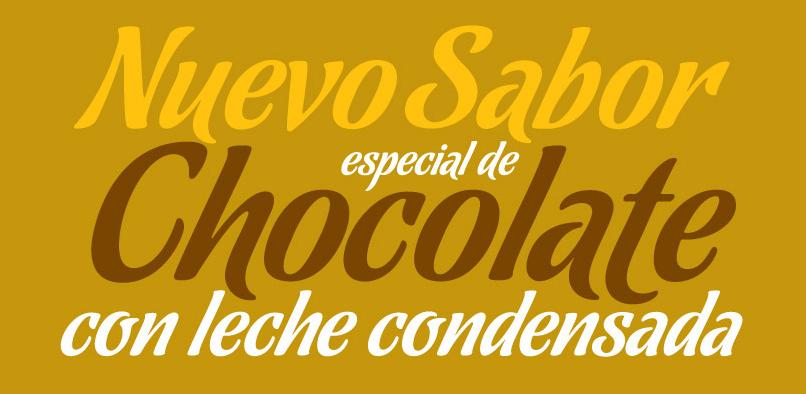 hft81 chocolate pr2 Chocolate Font