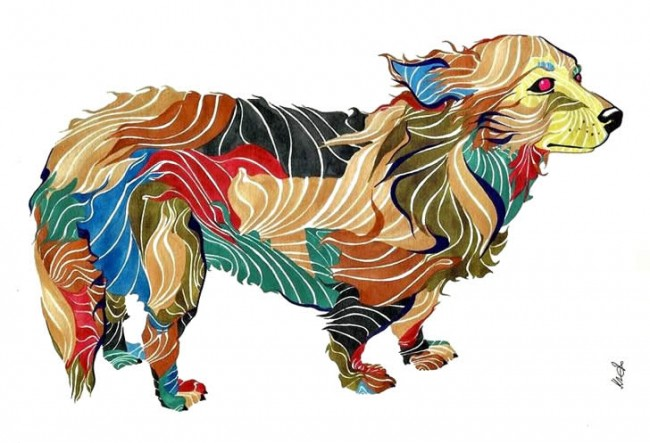 kael kasabian 03 650x443 Colorful Pets