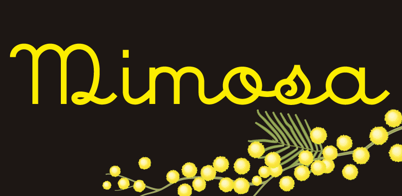 mim01 Mimosa Font