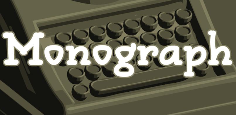 mono01 Monograph Font