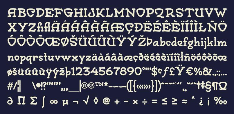 mono02 Monograph Font