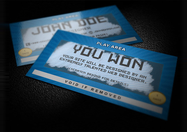 scratch business card template Wow Your Clients with Trendy Business Card Templates