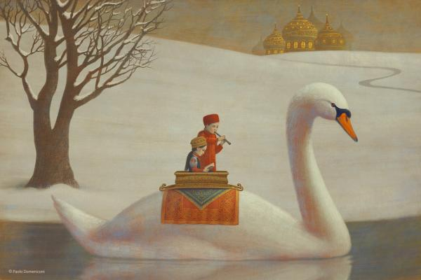 the white river by aguaplano600 400 Children's Illustrations by Paolo Domeniconi