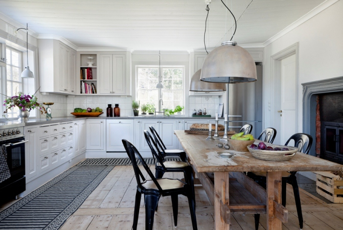 uau TOP INSPIRING VINTAGE KITCHENS