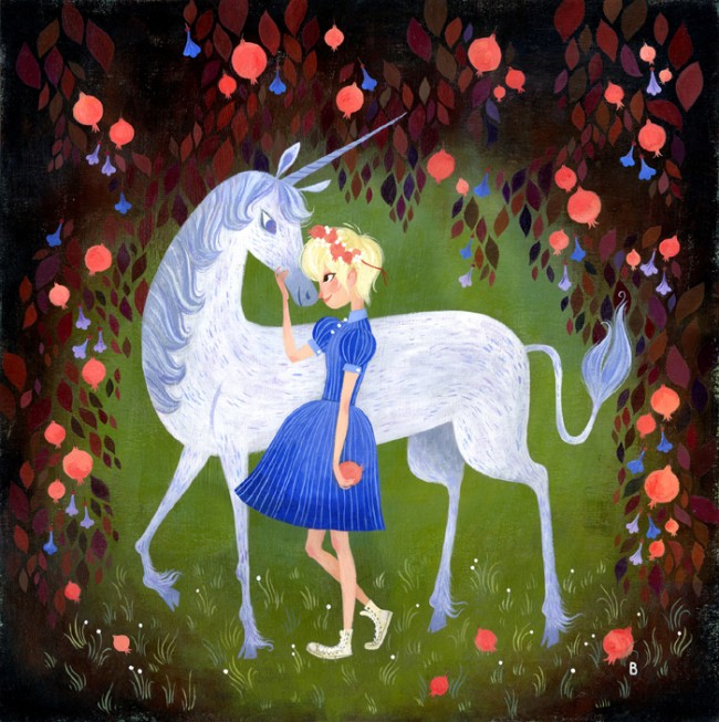 wwa unicorn2 BrigetteB pome 650x653 I Believe in Unicorns, Too! gallops back into town Sat. February 16th!