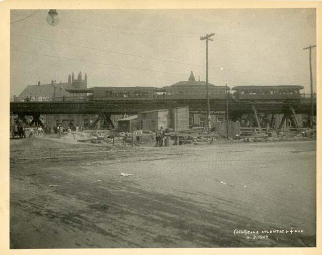 Old Photos of The Barclays Center Area in The Early 1900s