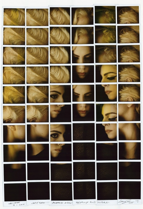 Celebrity Works Maurizio Galimberti 4 Creative Polaroid Collages of Celebrity Portraits by Maurizio Galimberti