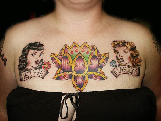 Chest Tattoos 19 20 Beautiful Chest Tattoos Designs