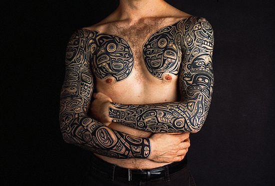 Chest Tattoos 5 20 Beautiful Chest Tattoos Designs