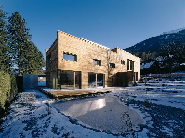 Doppelhaus in Sistrans Architektur und Design Wohn DesignTrend 01 Duplex House in Austria