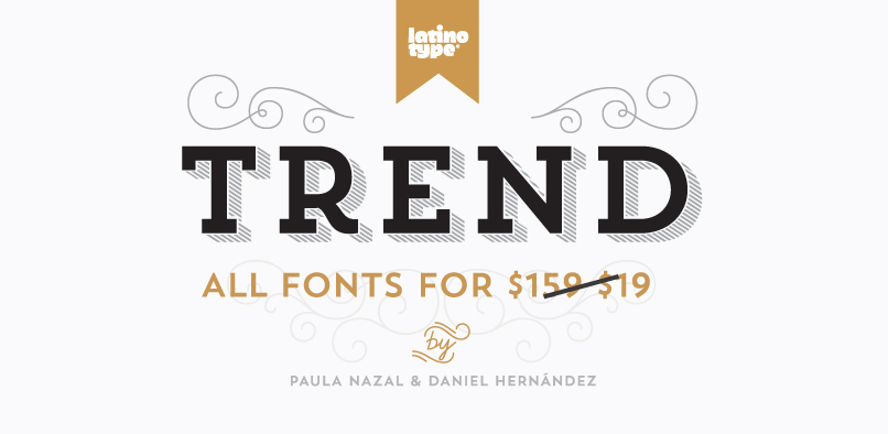 HFT Trend 01 88% OFF TREND FONT FAMILY