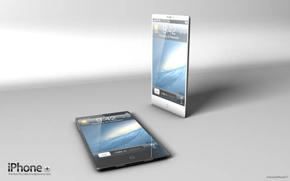 New Iphone Concept 1 New Iphone Concept With Extra Thin And Stylish