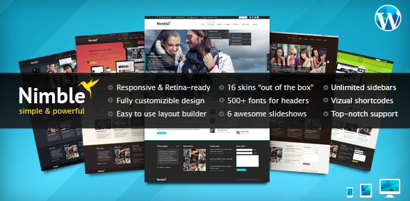 Top 30 WordPress Themes on ThemeForest Top 30 WordPress Themes on ThemeForest