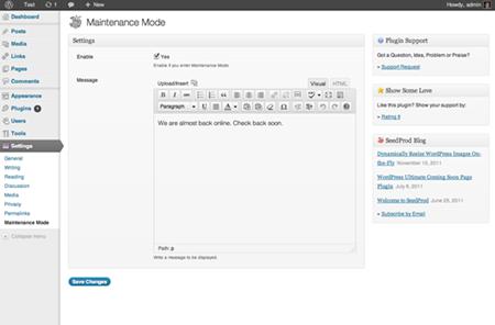 Ultimate Maintenance Mode 15 Famous Maintenance Plugins of WordPress