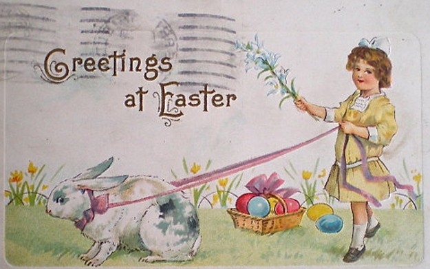 Vintage Easter Cards 2 Creepy & Funny Vintage Easter Cards