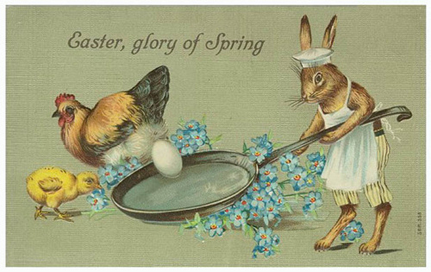 Vintage Easter Cards 3 Creepy & Funny Vintage Easter Cards