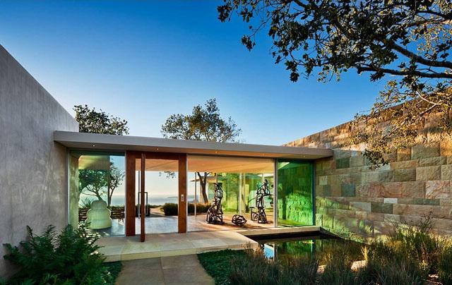 Wohntrends Stahlhaus in Montecito von Barton Myers Associates Architektur und Design Wohn DesignTrend 08 Montecito Residence by Barton Myers Associates