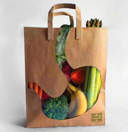 cityharvest  Creative Shopping Bag Designs
