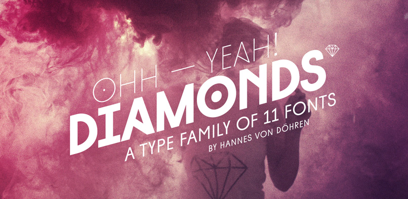 diamonds pr1 DIAMONDS FONT FAMILY