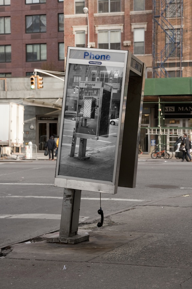 jordanseiler00 Inception Style Phone Booth Art in NYC