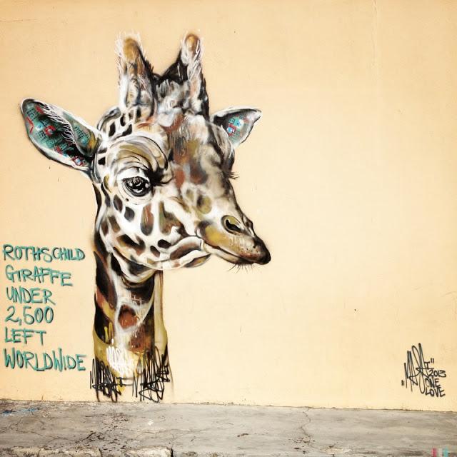 masai streetart capetown 02 Masai New Murals In Cape Town // South Africa