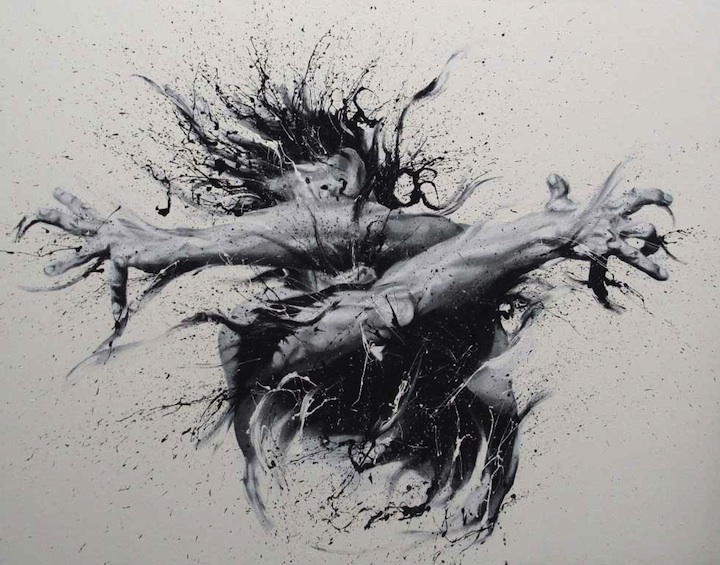paolo troilo 05 Photorealistic Finger Paintings Full of Raw Emotion