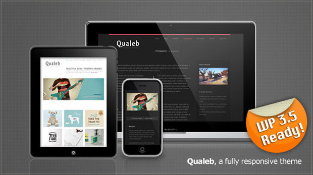 qualeb1 Best Business, Portfolio Responsive WordPress Themes Collection