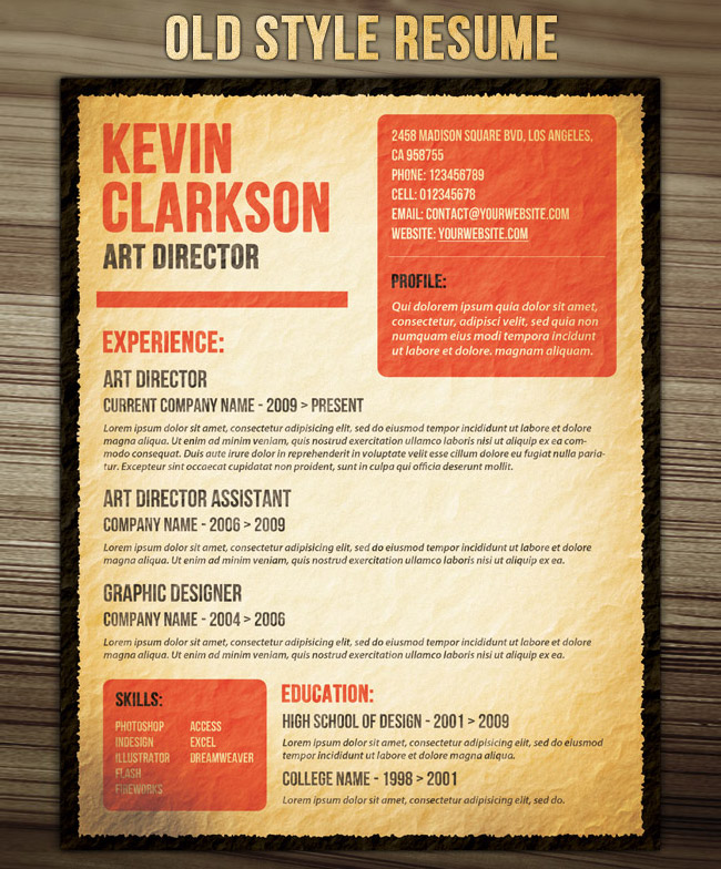 phuket resume collection and creative design get that dream job