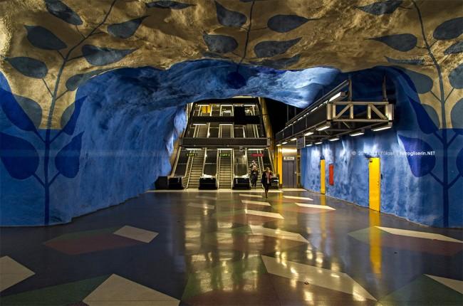 tbana 7 650x430 Stockholm T Bana Metro Stations