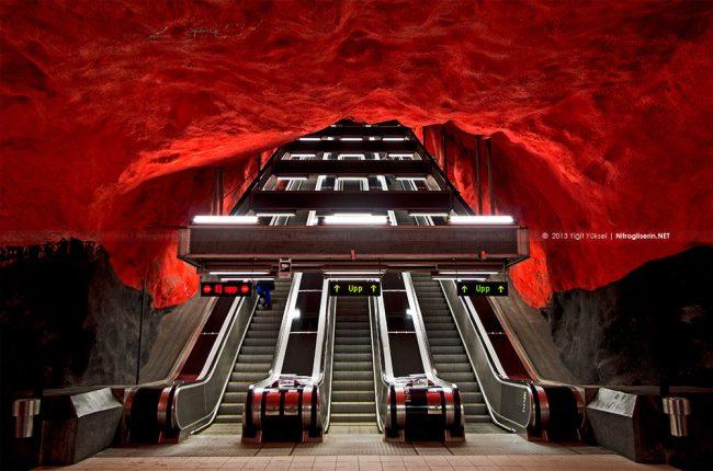 tbana 8 650x430 Stockholm T Bana Metro Stations