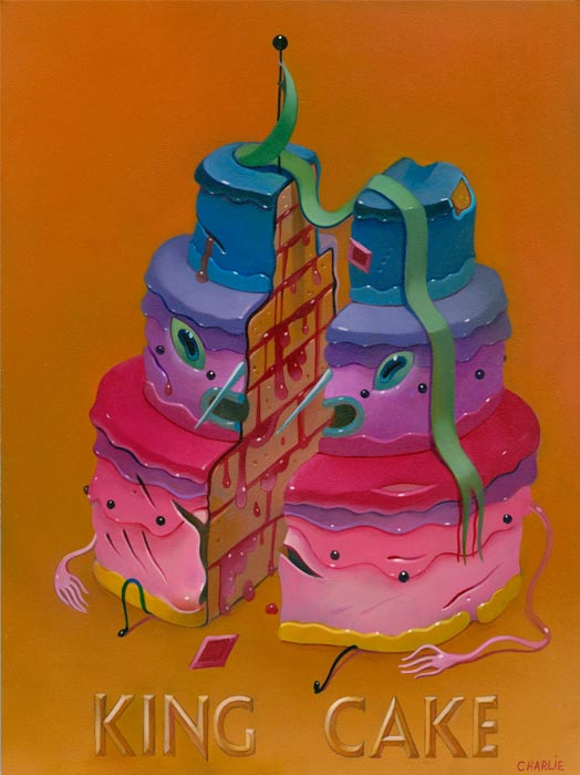 wwa eyecandy immer c king cake Savor the works by 11 notable fresh painters in eyeCandy