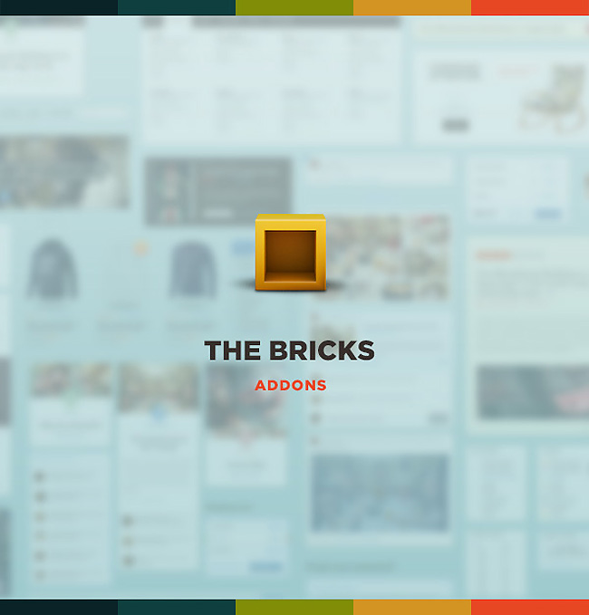 1144 Giveaway: Win Fantastic & Beautiful The Bricks UI Pack by Designmodo!