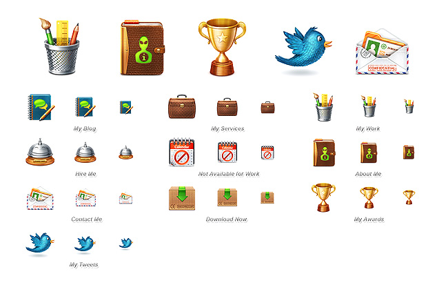 140 Giveaway: Win Over 1,000 Super Quality Icons from Web Icon Set