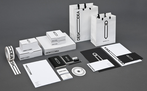 14111 60 Professional Examples of Stationery Design