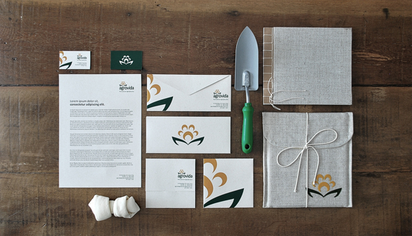 4111 60 Professional Examples of Stationery Design