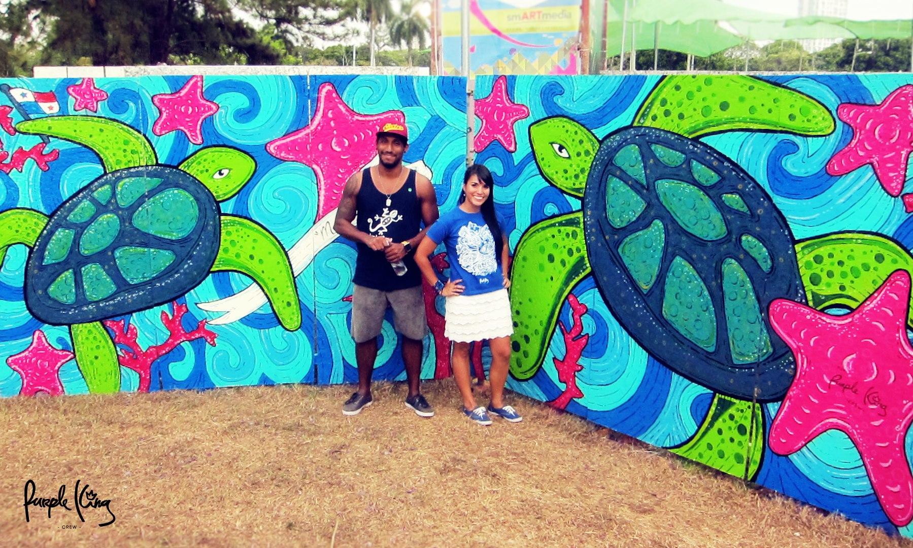 616 Purple King Crew es Festival Abierto 2013 / Purple King Crew is Abierto Fest 2013