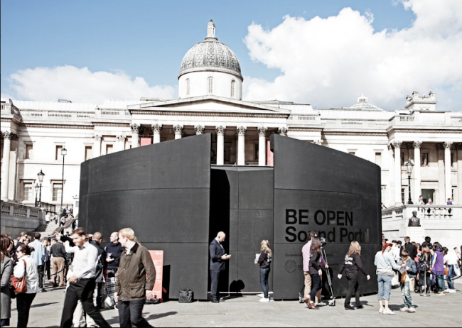 BOSP 650x462 London students step into the future through the BE OPEN Sound Portal