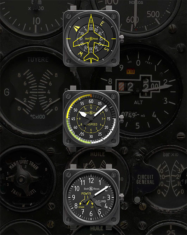 Bell and Ross BR01 Aviation Collection 1 The New Bell and Ross BR01 Aviation Collection