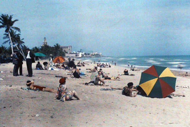 Color Photos of Florida USA in The 1930s 2 650x433 Color Photos of Florida, USA in The 1930s