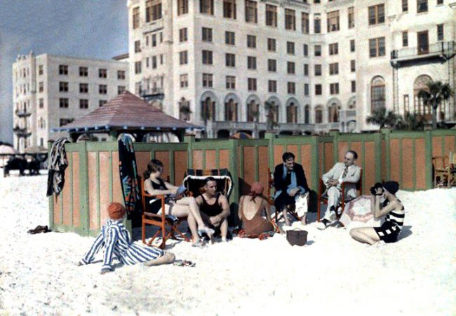 Color Photos of Florida USA in The 1930s 3 650x451 Color Photos of Florida, USA in The 1930s