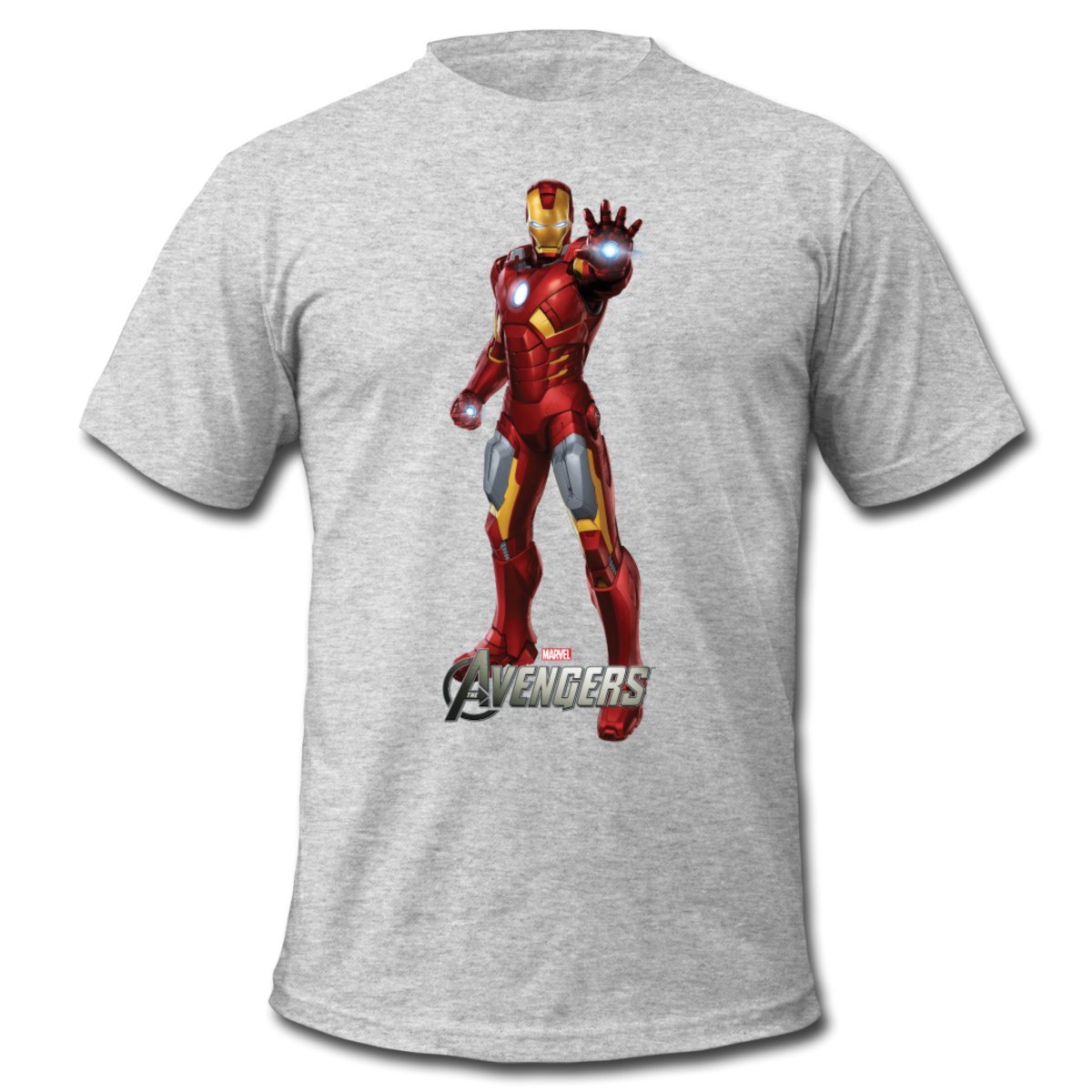Daily Tee Iron Man t shirt design from spreadshirt white for man Iron Man t shirt design from spreadshirt