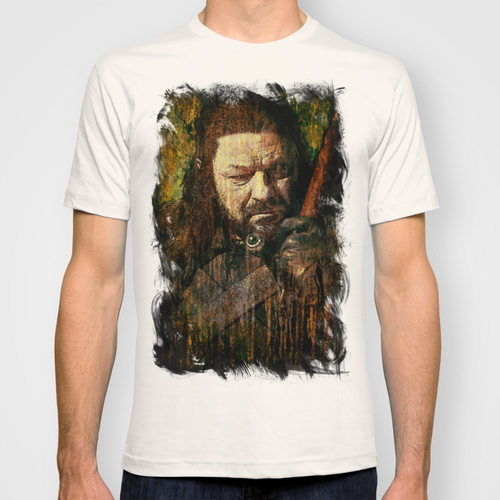 Daily Tee Ned Stark t shirt design by Sirenphotos front1 Ned Stark t shirt design by Sirenphotos