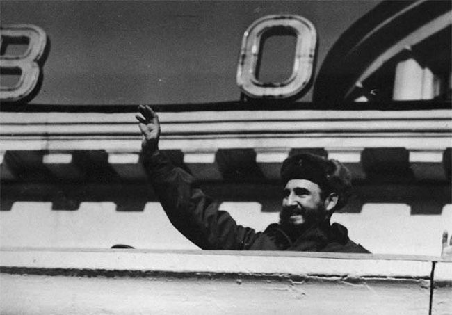 Fidel Castro Visits USSR 1963 1 650x453 Fidel Castro Visits USSR, 1963