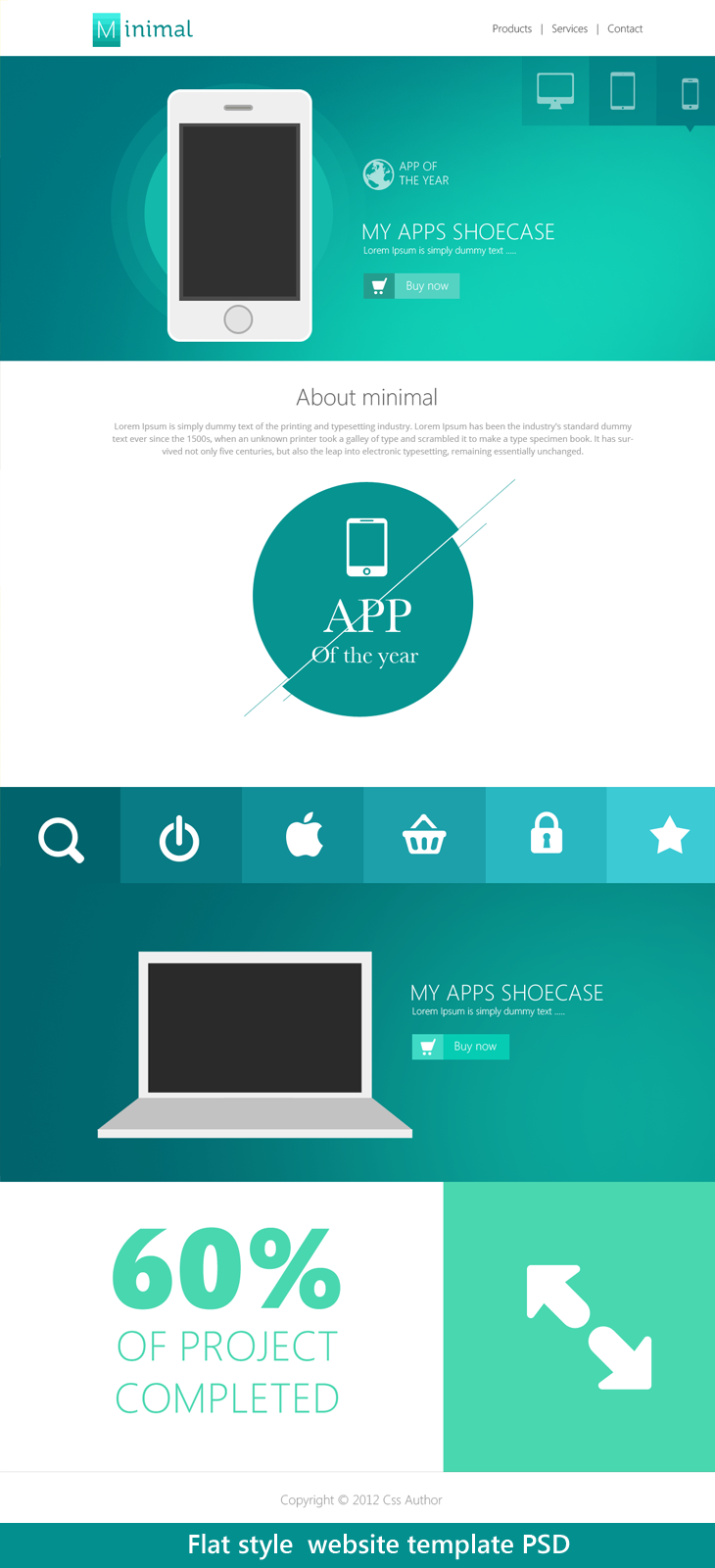 20 Beautiful Web Design Template Psd For Free Download Web Design