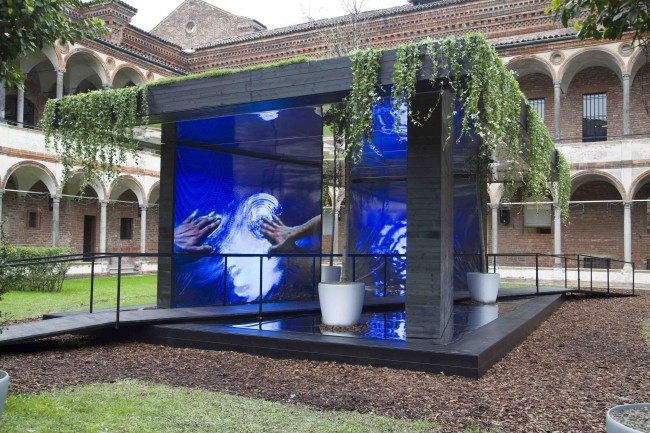 IMG 1168 650x433 BE OPEN Installation:  House of the Senses designed by Cristophe Pillet
