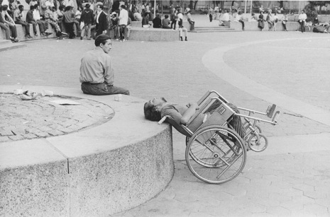 New York City 1970s 1 Photos of People Sleeping in Public in New York City, 1970′s
