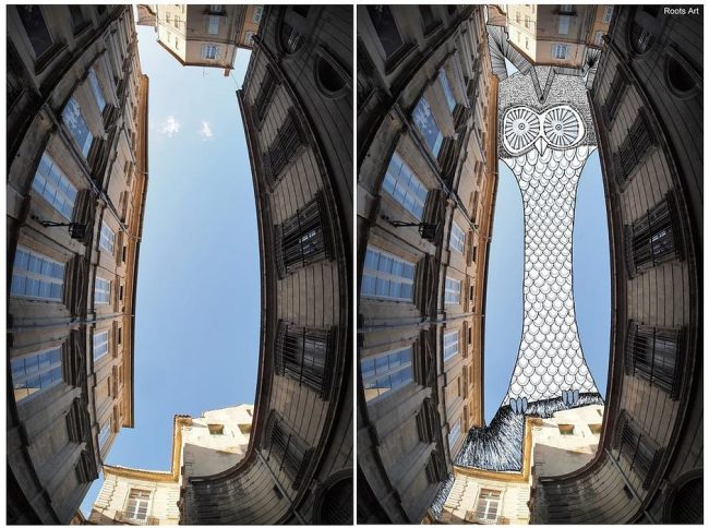 Outstanding SkyArt by Thomas Lamadieu Fun Doodles Drawn Into Photographs of Sky 03 @ Gencept 650x484 Outstanding SkyArt by Thomas Lamadieu: Fun Doodles Drawn Into Photographs of Sky